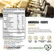 FUERTE C8 MCT Powder - The VitaKea Store - Nootropics & Biohacking for New Zealand