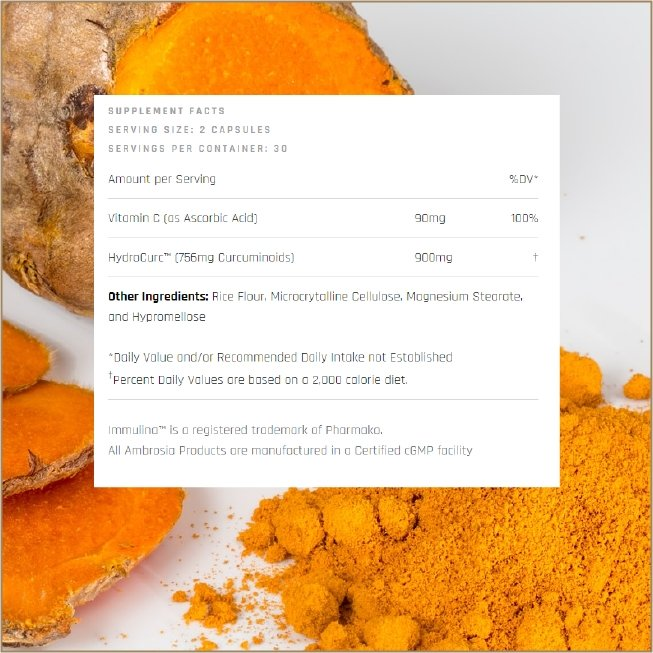 Golden Super Turmeric - The VitaKea Store - Nootropics & Biohacking for New Zealand