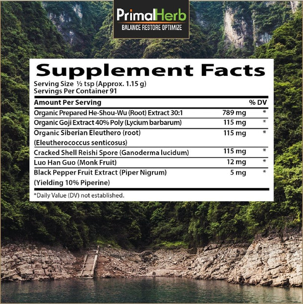 He Shou Wu Plus - The VitaKea Store - Nootropics & Biohacking for New Zealand