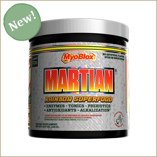 Martian: Rainbow Superfood - The VitaKea Store - Nootropics & Biohacking for New Zealand