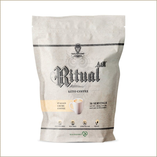 Ritual-AM: Keto Coffee - The VitaKea Store - Nootropics & Biohacking for New Zealand