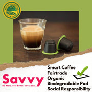 Savvy Nootropic Coffee Pods - The VitaKea Store - Nootropics & Biohacking for New Zealand