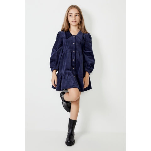 Bardot Junior - Larissa Tiered Cord Dress