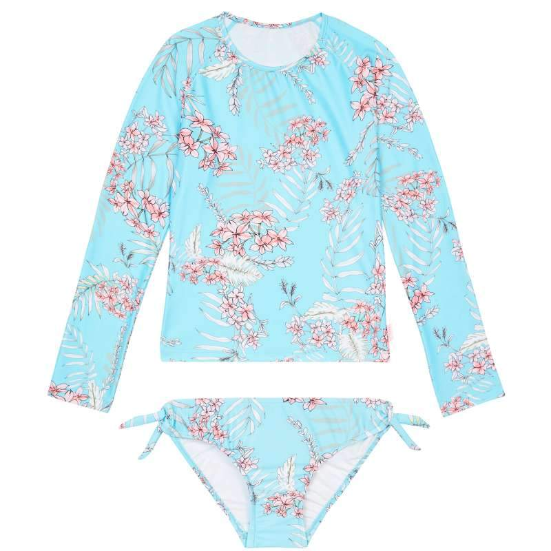 Tahitian Skies L/S Surf Set Size 6
