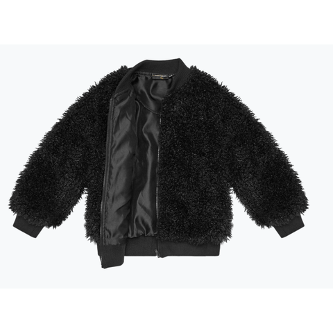 Rock Your Baby - Black Teddy Jacket
