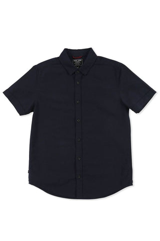 boys - rickard ss shirt - dark navy