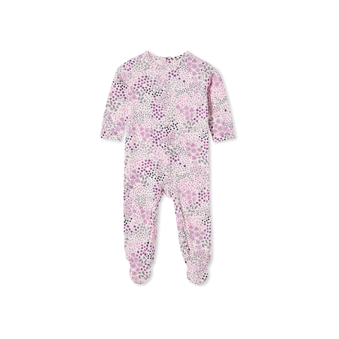 Milky - Patchwork Romper Blossom pink