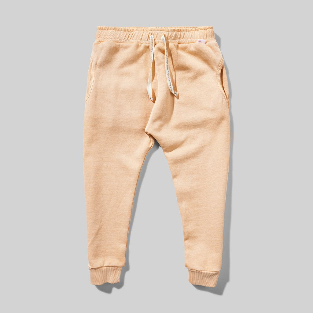 Missie Munster - Prairie Sunset Track Pant - Apricot Wash