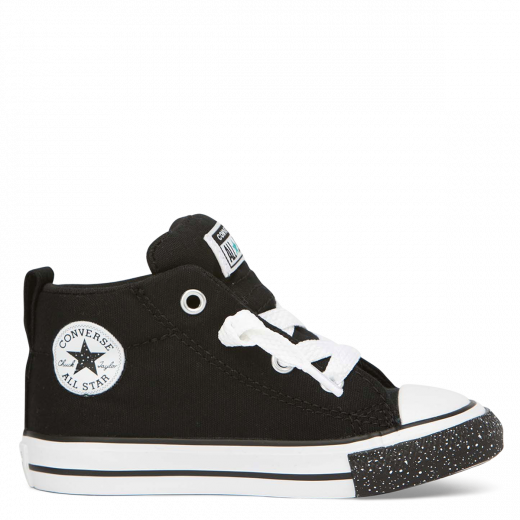 Converse - chuck taylor all star street mid - black/white