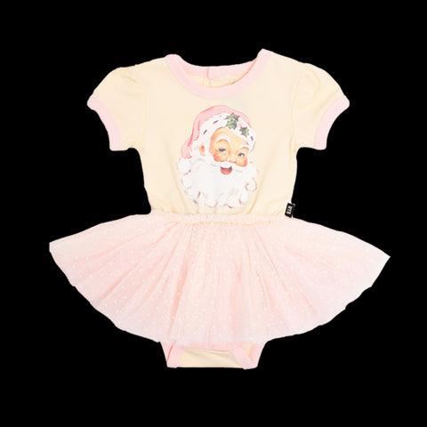 Rock Your Baby Santa circus dress - cream