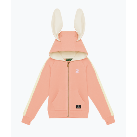 Rock Your Baby - Pink Bunny Ears Hoodie