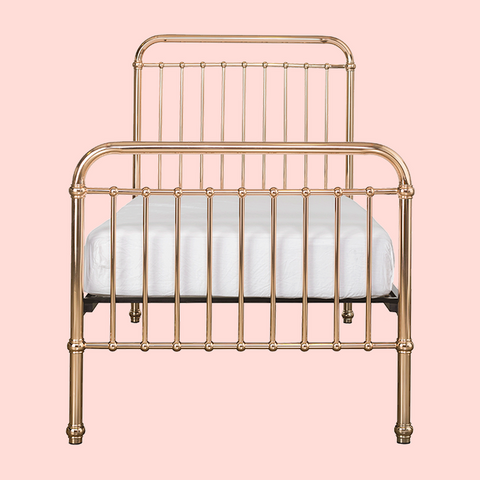INCY INTERIORS - EDEN SINGLE BED - ROSE GOLD