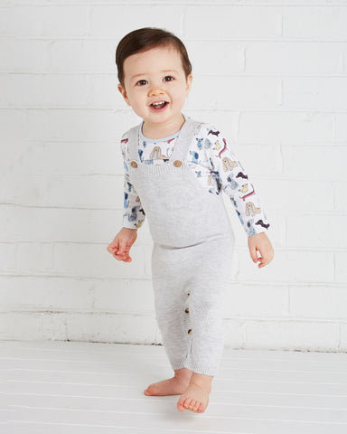 Fletch Knit Overall