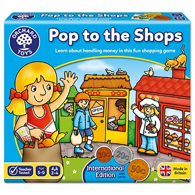 Orchard Toys - Pop To the Shops Game 5-9years