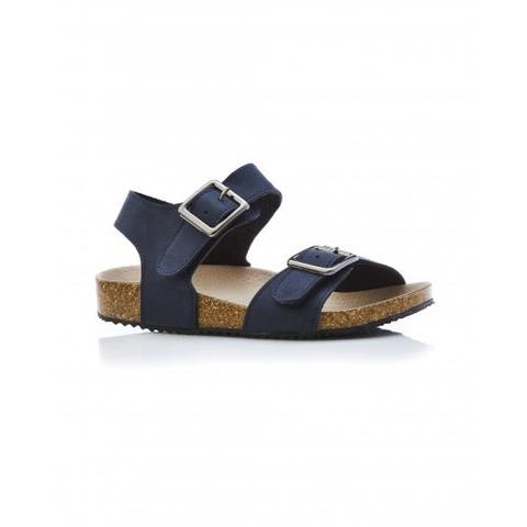 Walnut - Burke Sandal - Navy