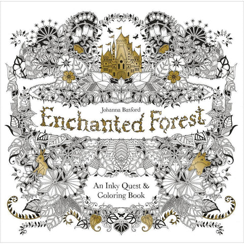 Enchanted Forest - Colouring Book