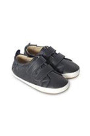 Old Soles - Baby Boy Bambini Markert - Navy/White