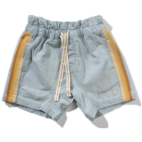 Missie Munster Bee Short Denim
