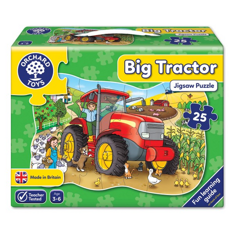 Orchard Toys - Jigsaw Puzzle - Big Tractor