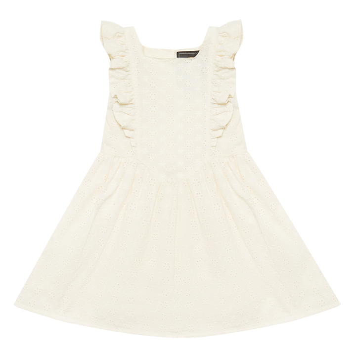 Rock Your Baby Broderie Babette Dress - Cream