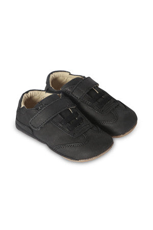 Old Soles - Baby Boy Kick Out Shoe - Distressed Black