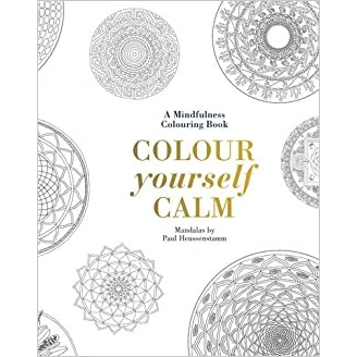 Colour Yourself Calm - Colouring Book