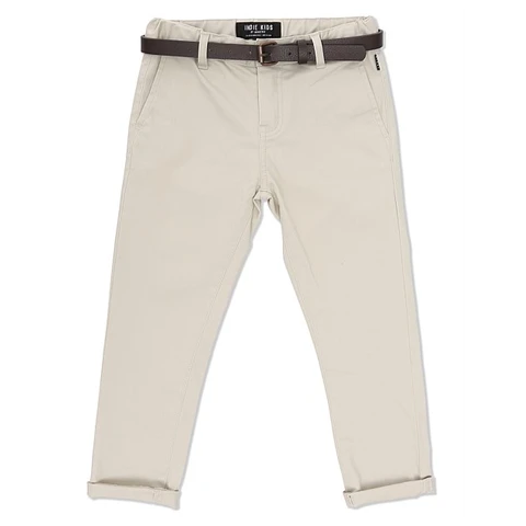 Indie Kids -Cuba Stretch Chino -Talc