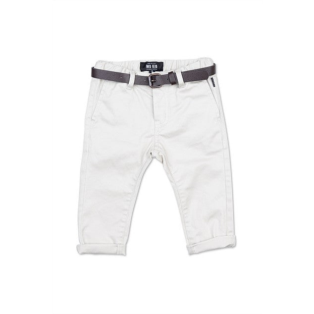 Indie Kids - Cuba Stretch Chino  (0-2) -Talc