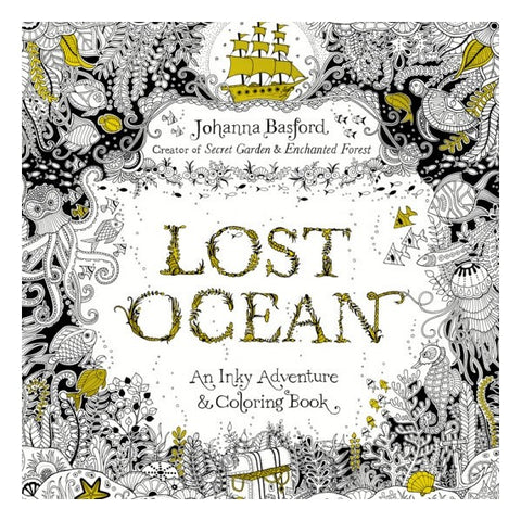 Lost Ocean - Colouring Book