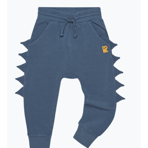 Rock Your Baby - Blue Dino Baby Track Pants