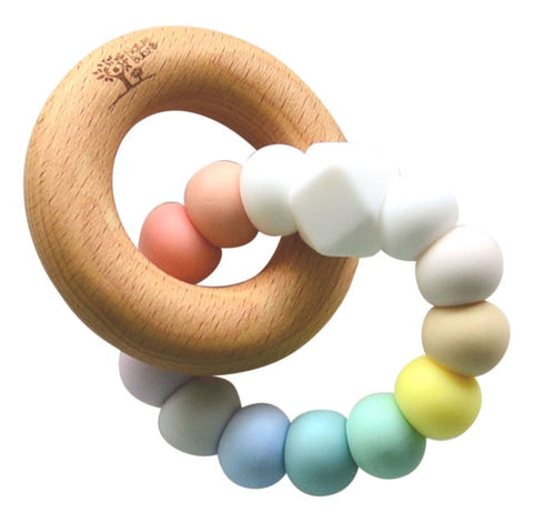 Pastel Rainbow Teether