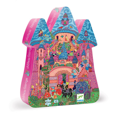 Fairy Castle 54 pc silhouette puzzle