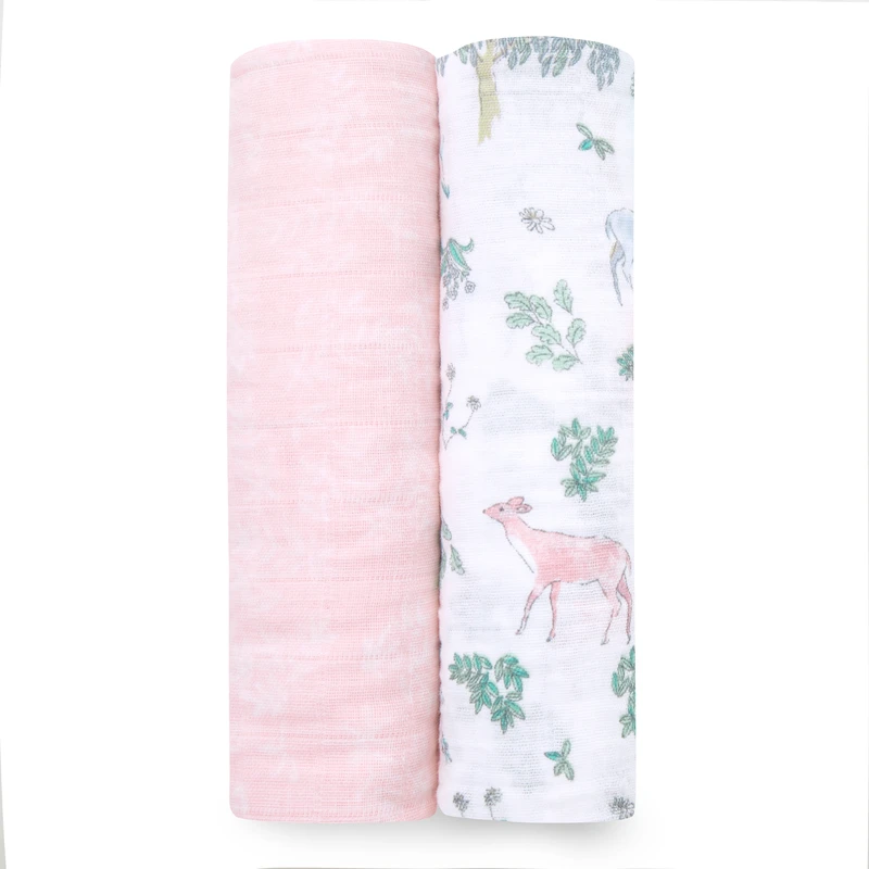 Aden + Anais - Forest Fantasy 2 Pack Swaddles