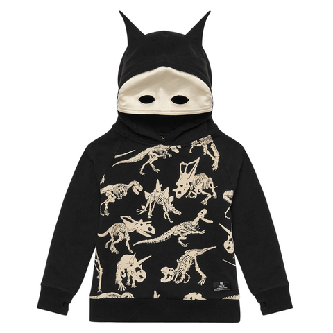 Rock Your Baby - Fossil Masked Hoodie