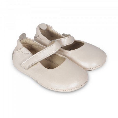 Old Soles - Baby Girl Gabrielle Shoe - Pearl Metallic