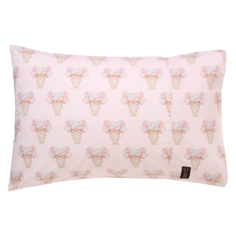 May Gibbs X Pretty Lady Pink Single Pillowcase