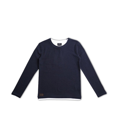 Indie Kids - Tee Knit - Navy 8-14 Boys
