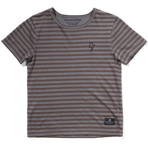 Munster Layers Tee Charcoal
