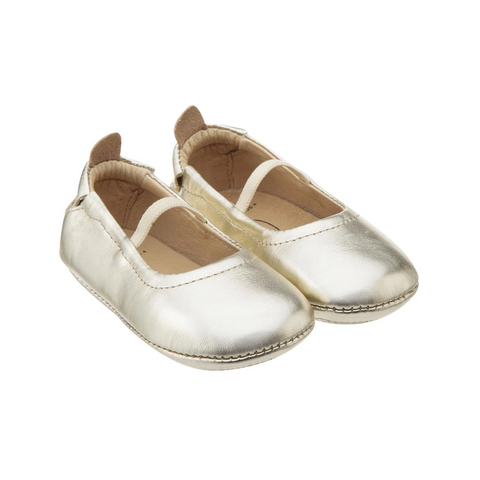 Old Soles - Luxury Ballet Flat - Gold