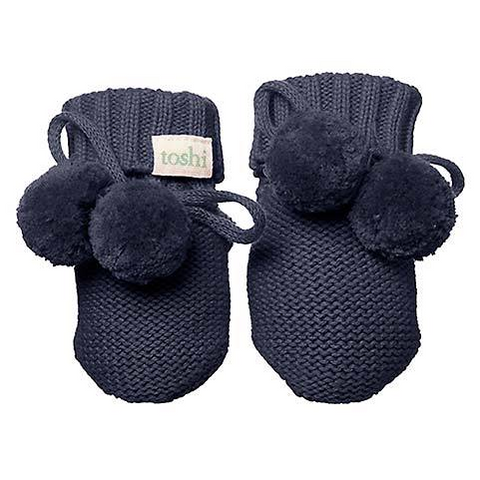 Toshi - Organic Booties Marley Midnight