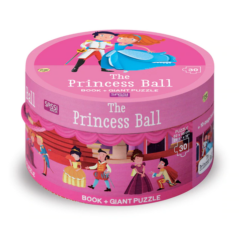 Sassi - Book & Giant Puzzle - The Princess Ball