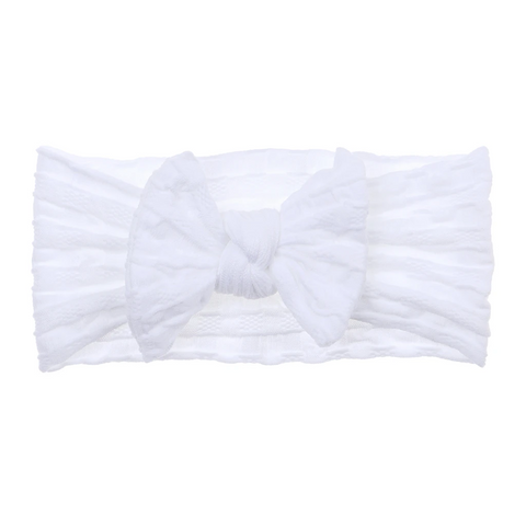 Bonnie & Harlo  - soft headband | coconut