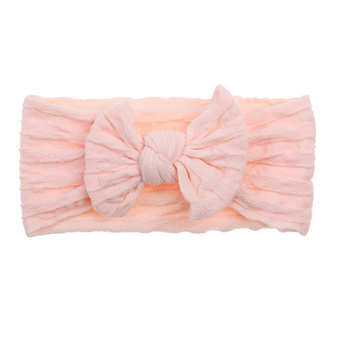 Bonnie & Harlo - soft headband | peaches