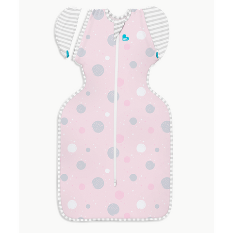 LOVE TO DREAM SWADDLE UP TRANSITION BAG - PINK Lite 0.2 TOG