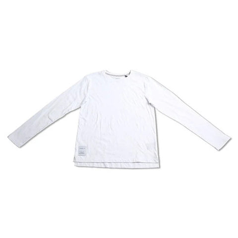 Indie Kids - boys - core long sleeved tee - white (3-7)