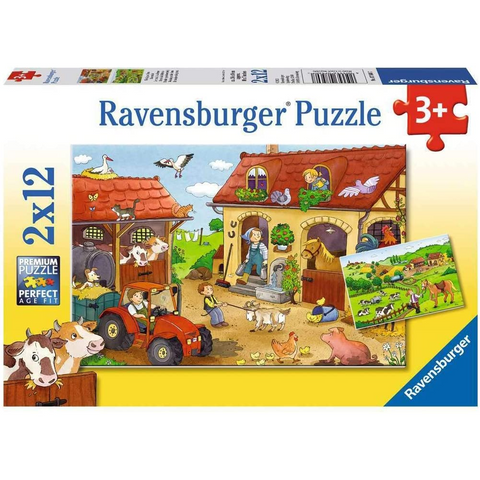 Ravensburger Puzzle - Working On The Farm