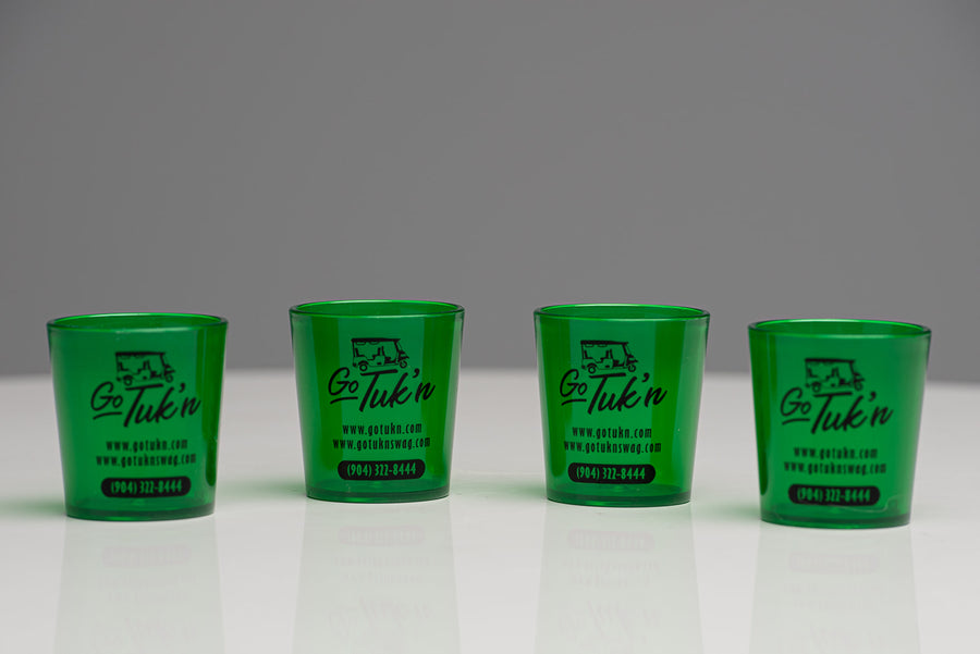 Go Tuk'n Souvenir Shot Glasses