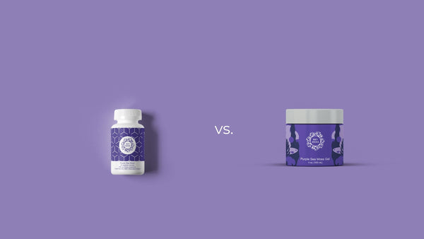 Sea moss pills vs gel, which one should you take?