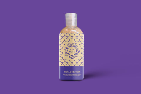 Bey Moss Hair & Body Wash (8oz)