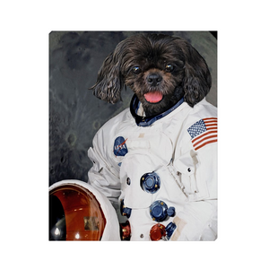 Custom Astronaut Portrait for Michael